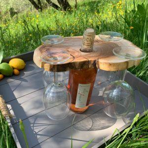 wijnglas houder quattro
